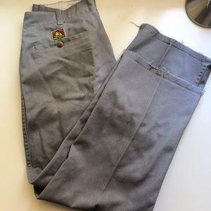 Ben Davis Pants - Grey Ben Davis Pants